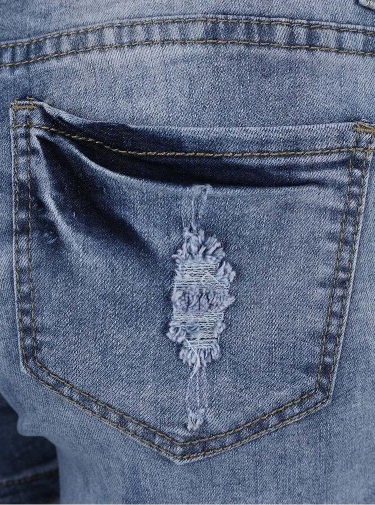 Modré džínové kraťasy Madonna