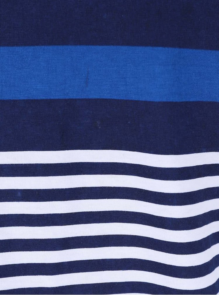 Modré pruhované tričko Tailored & Originals Rickinghall