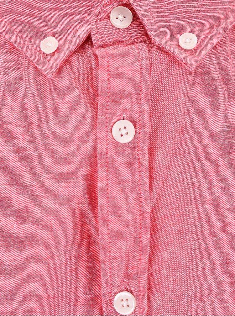 Cămașă Tailored & Originals Roade roz bărbătească