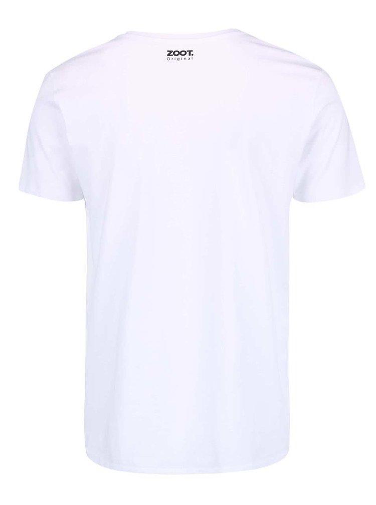 Bílé pánské triko ZOOT Originál Jarda
