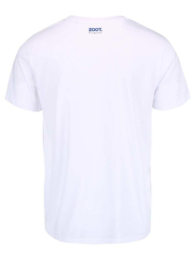 Bílé pánské triko ZOOT Originál Čech