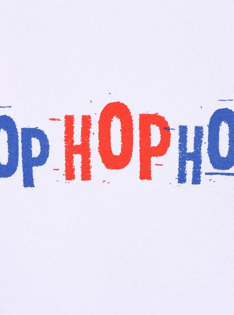 Biele dámske tričko ZOOT Originál Hop Hop Hop
