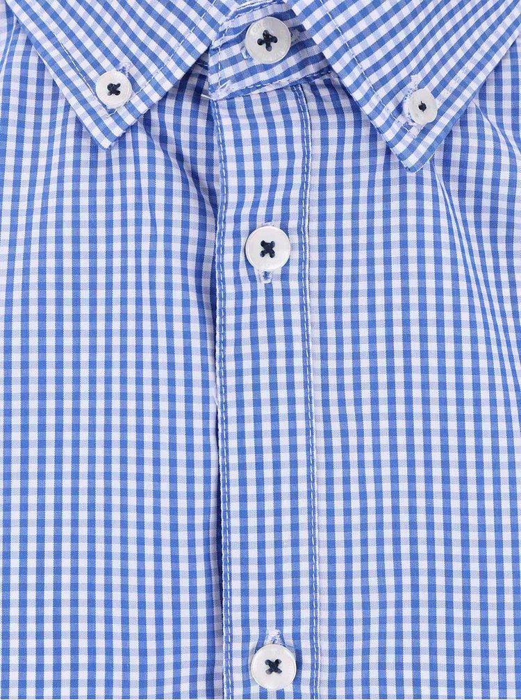 Cămașă Tailored & Originals albastră bărbătească cu model