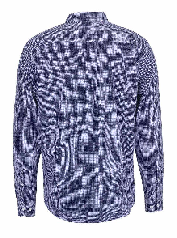 Modrá košile s jemným vzorem Tailored & Originals Ramsey