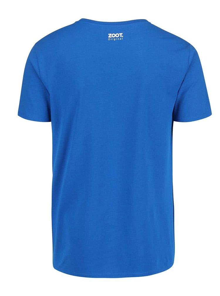 Modré pánské triko ZOOT Originál Malá země