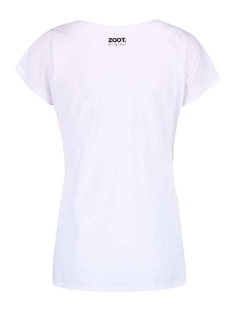 Bílé dámské tričko ZOOT Originál Hledám hokejistu