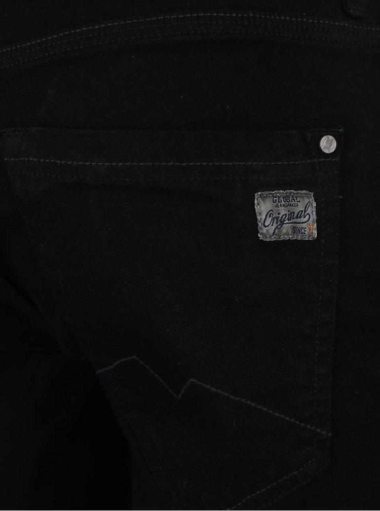 Pantaloni scurti Blend denim negru