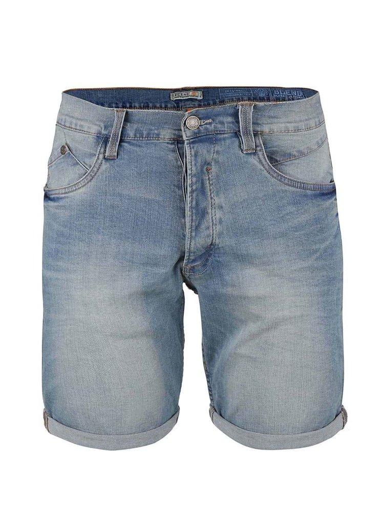 Pantaloni scurți Blend denim albastru deschis