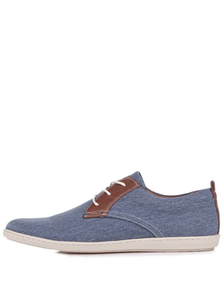 Pantofi sport Bullboxer albastru cu maro
