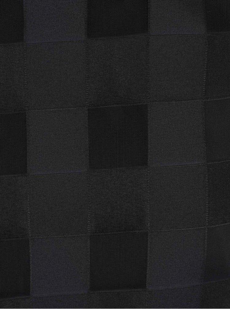 Černý dámský vzorovaný top Alchymi Black Diamond