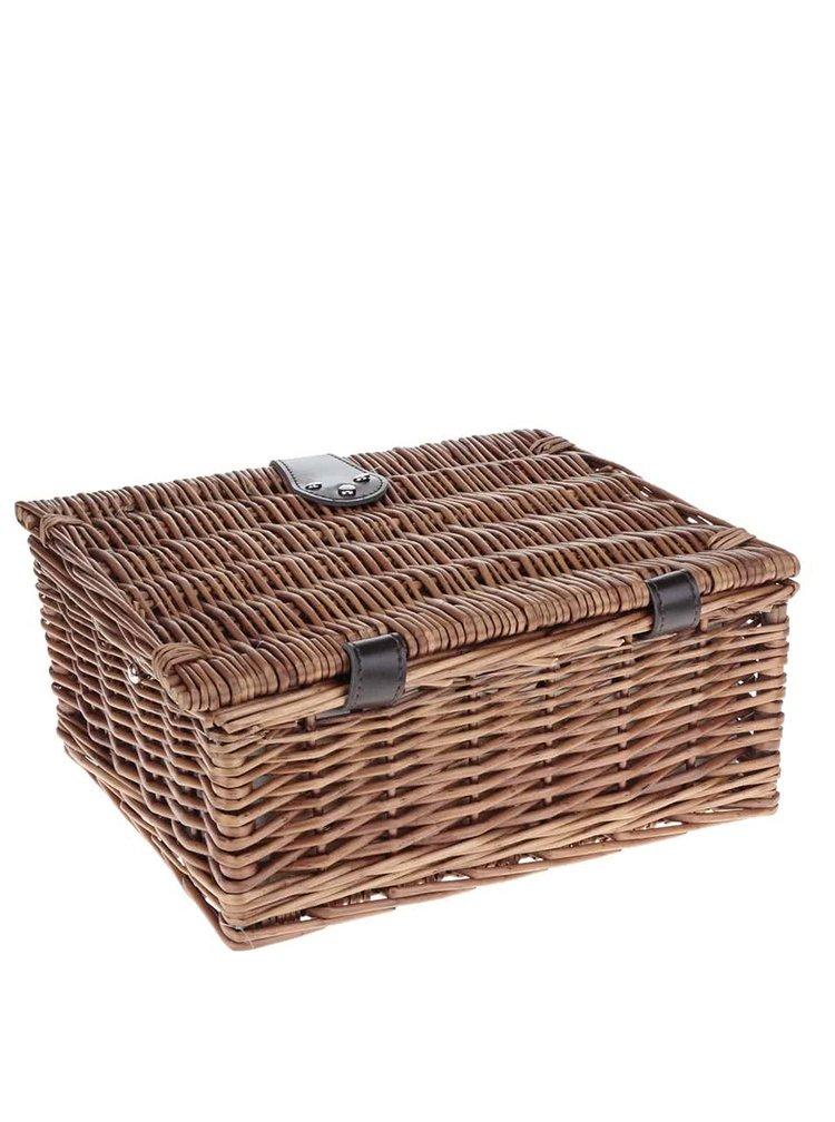 Cos de rachita pentru picnic Dakls de 2 persoane