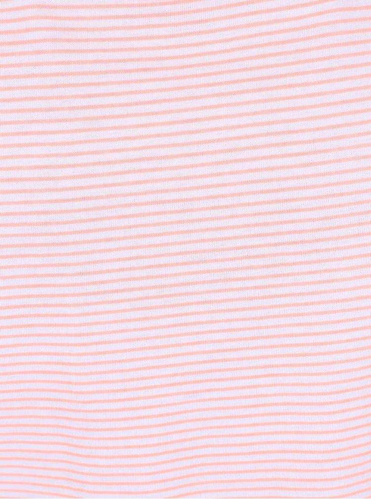 Bluză Tom Joule Iris corai cu dungi