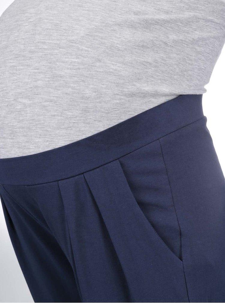 Tmavomodré tehotenské nohavice Mama.licious Marine