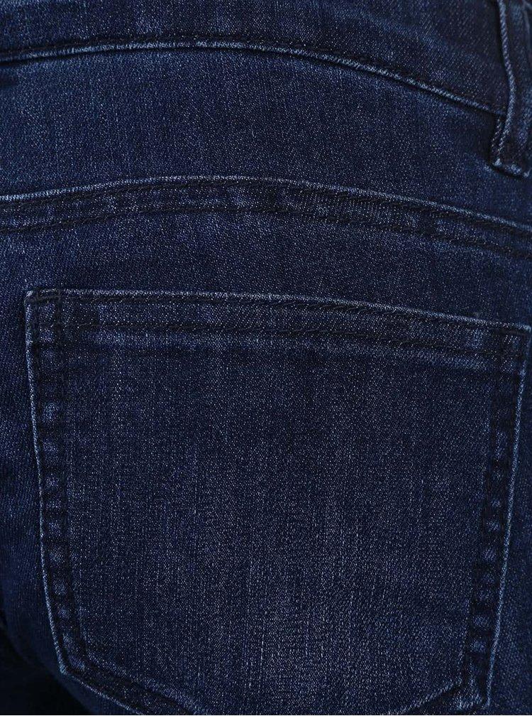 Tmavě modré těhotenské slim džíny Mama.licious Shelly