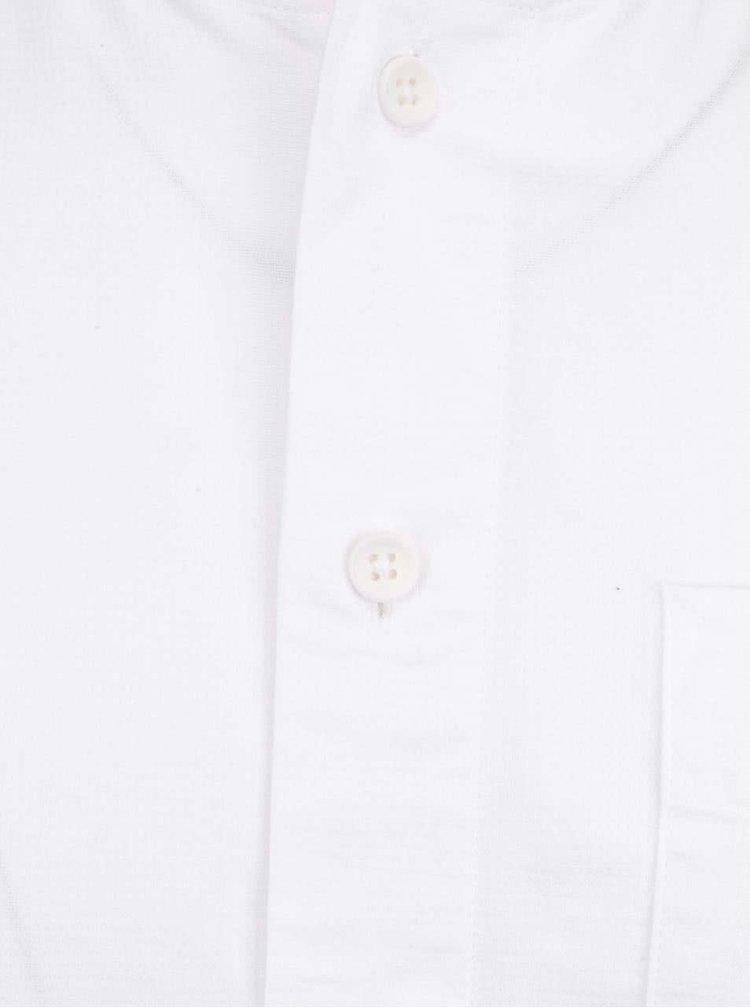 Bílá  košile s krátkým rukávem Jack & Jones Aiden