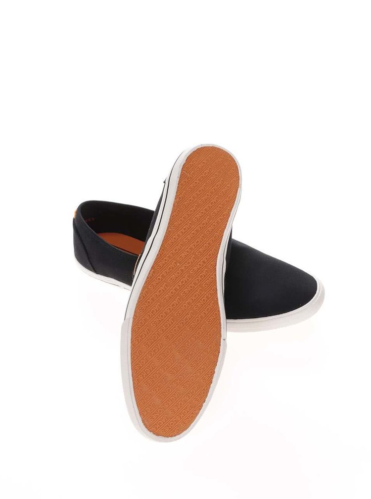 Čierne športové loafers Jack & Jones Spider