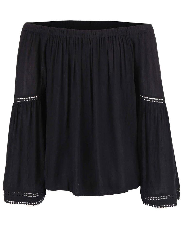 Bluză Dorothy Perkins neagră largă