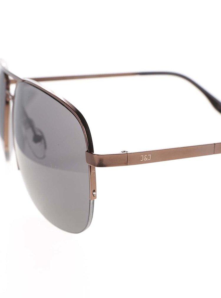 Ochelari de soare Jack & Jones Jack bronz
