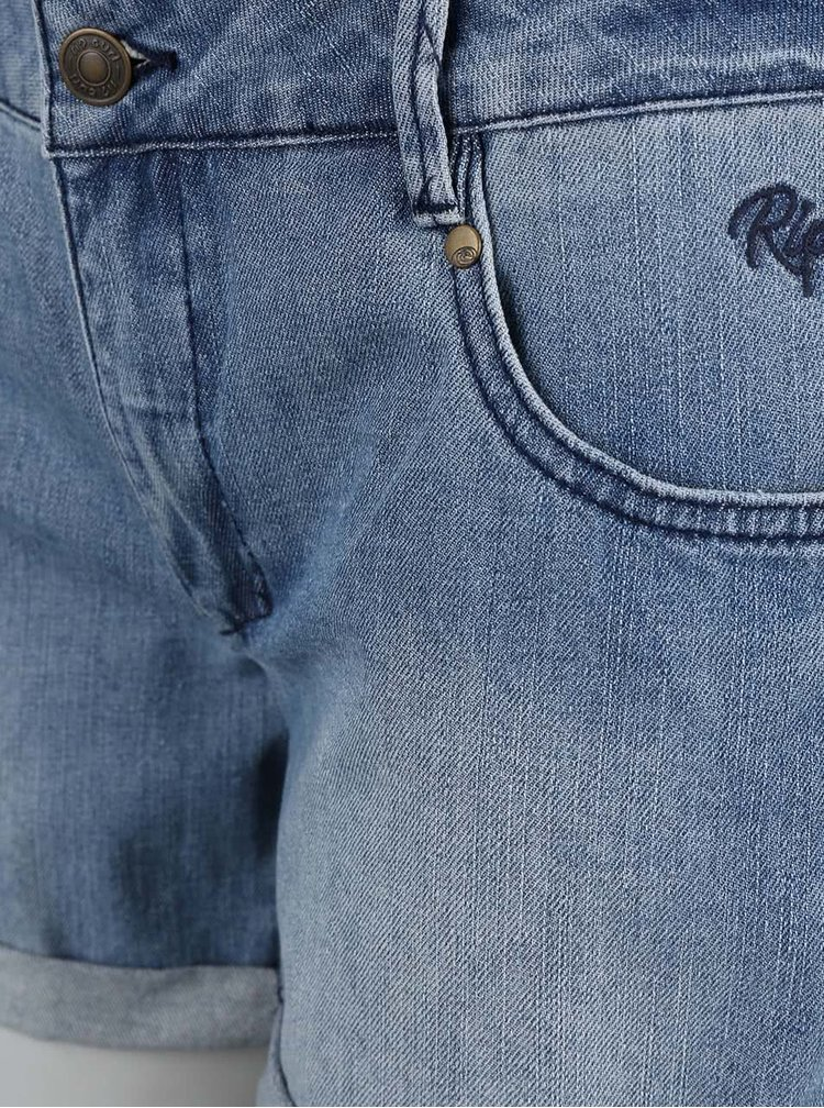 Modré dámske rifľové šortky Rip Curl Cholla