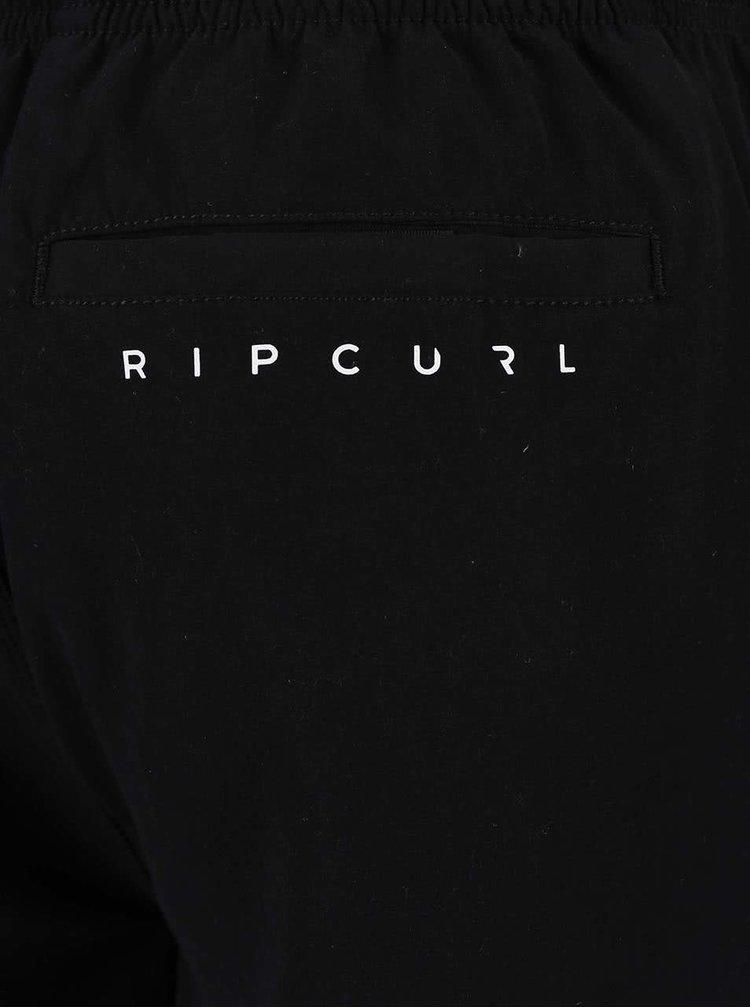 Čierne pánske plavky s nápisom Rip Curl Brash
