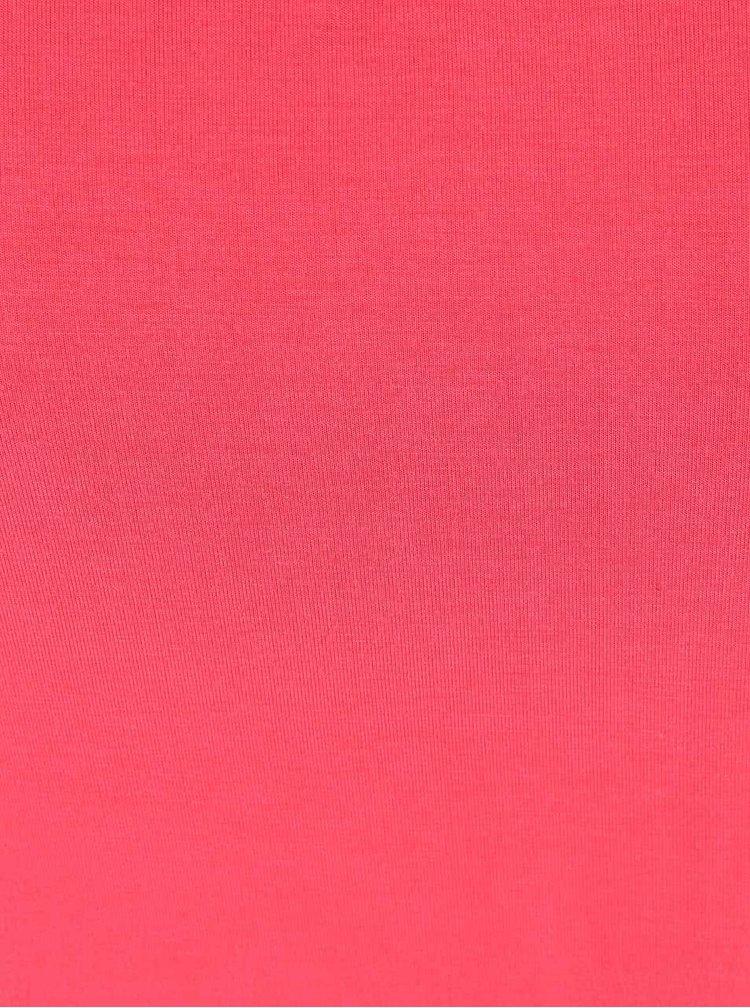 Růžové dámské tílko s průstřihem na zádech Rip Curl Soona