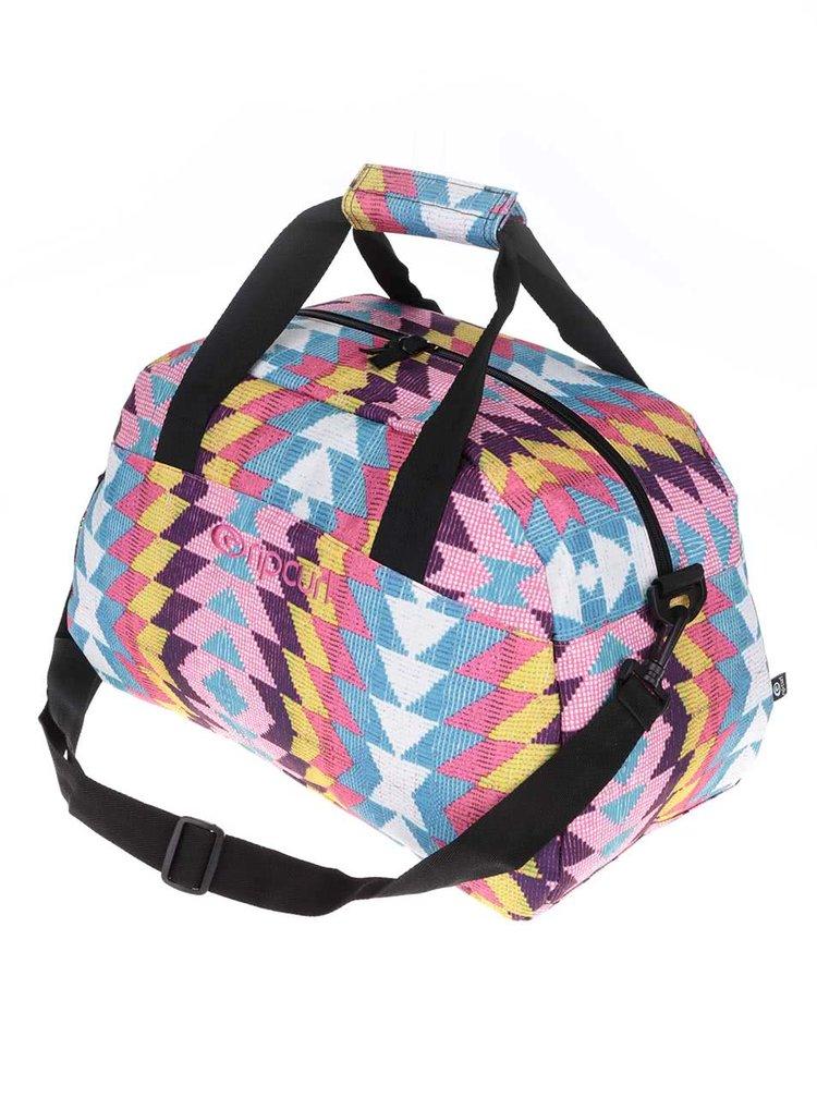 Černá vzorovaná unisex taška Rip Curl Phoenix