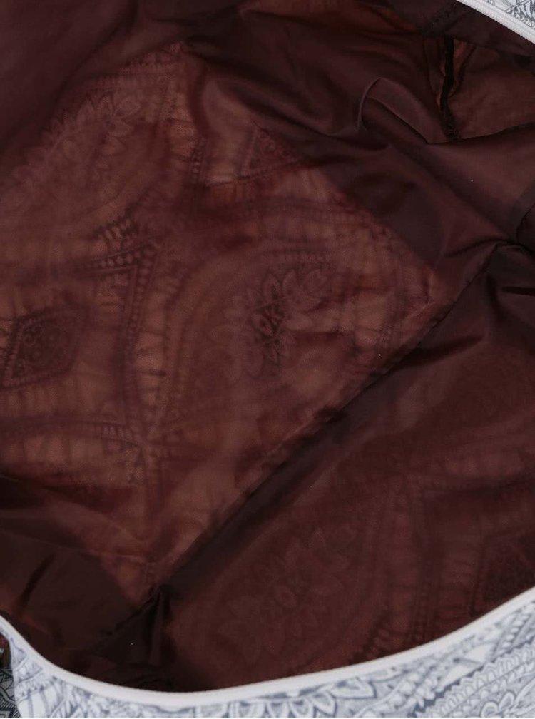 Geantă unisex Rip Curl Mayan gri-crem