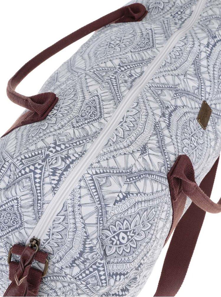 Krémovo-šedá unisex taška Rip Curl Mayan