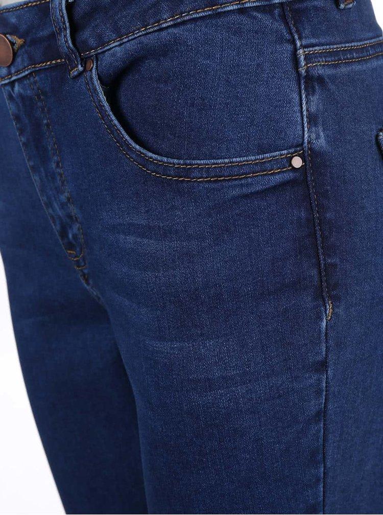 Modré skinny džíny Dorothy Perkins Petite
