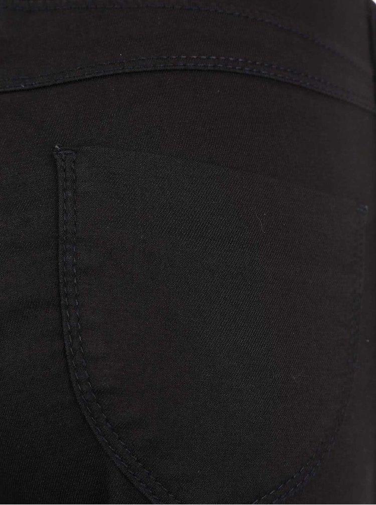 Černé capri kalhoty Dorothy Perkins Petite
