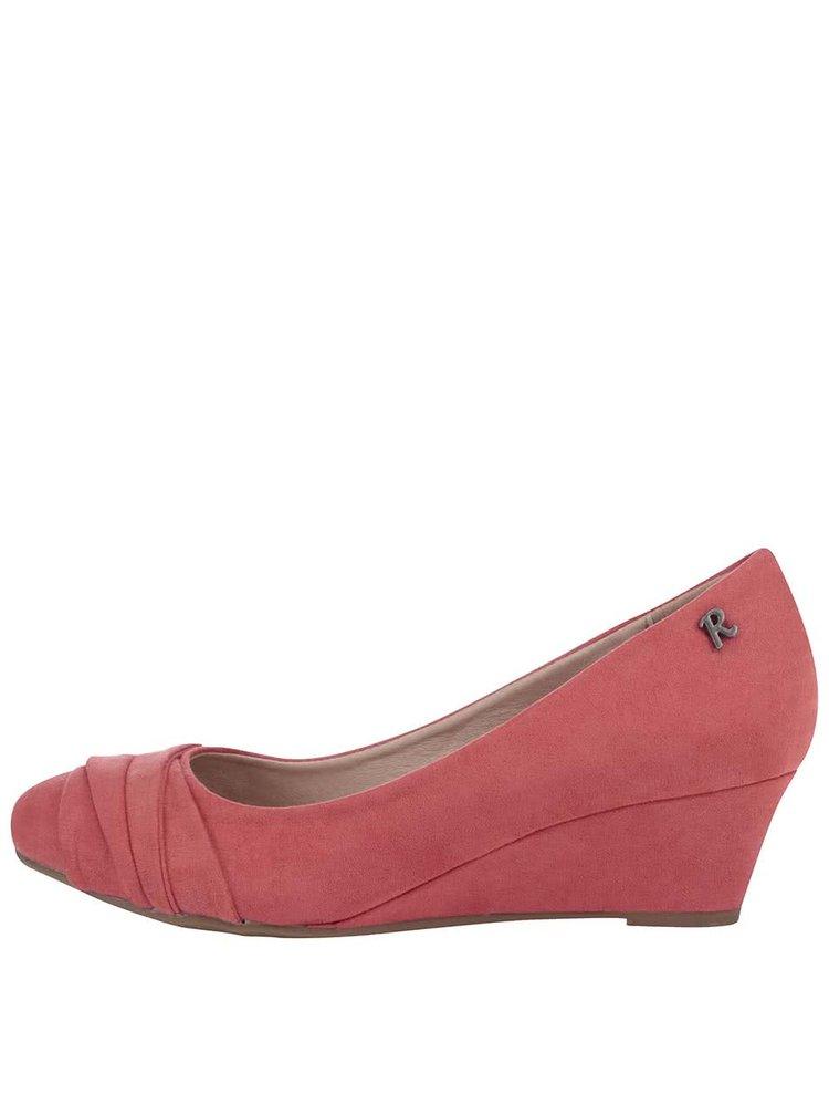 Korálové boty na klínku Refresh