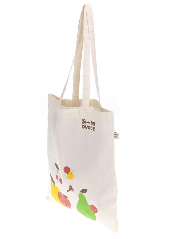 """""""Dobrá"""" plátěná taška pro NaOvoce"""
