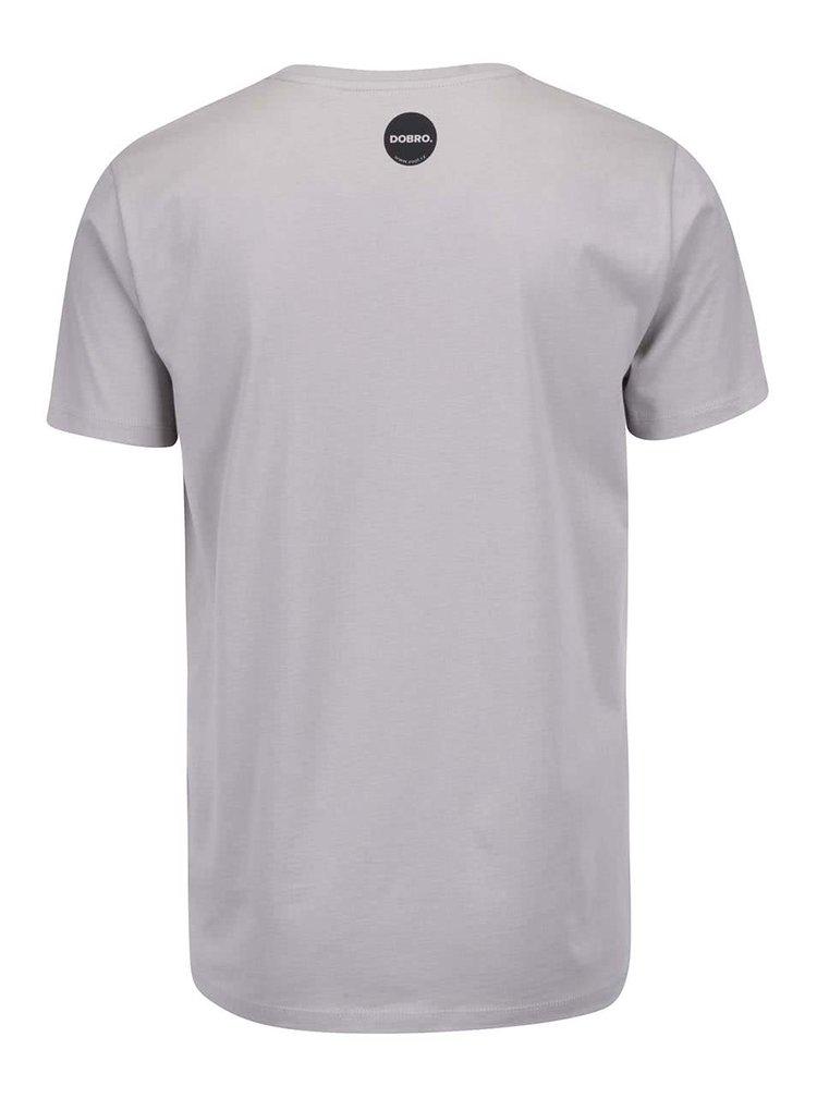 """""""Dobré"""" sivé pánske tričko pre Automat"""