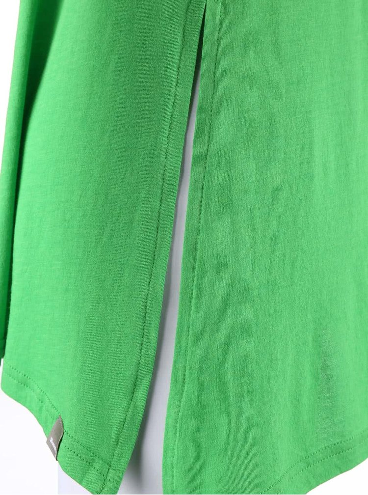 Zelené asymetrické tílko Bench Covet