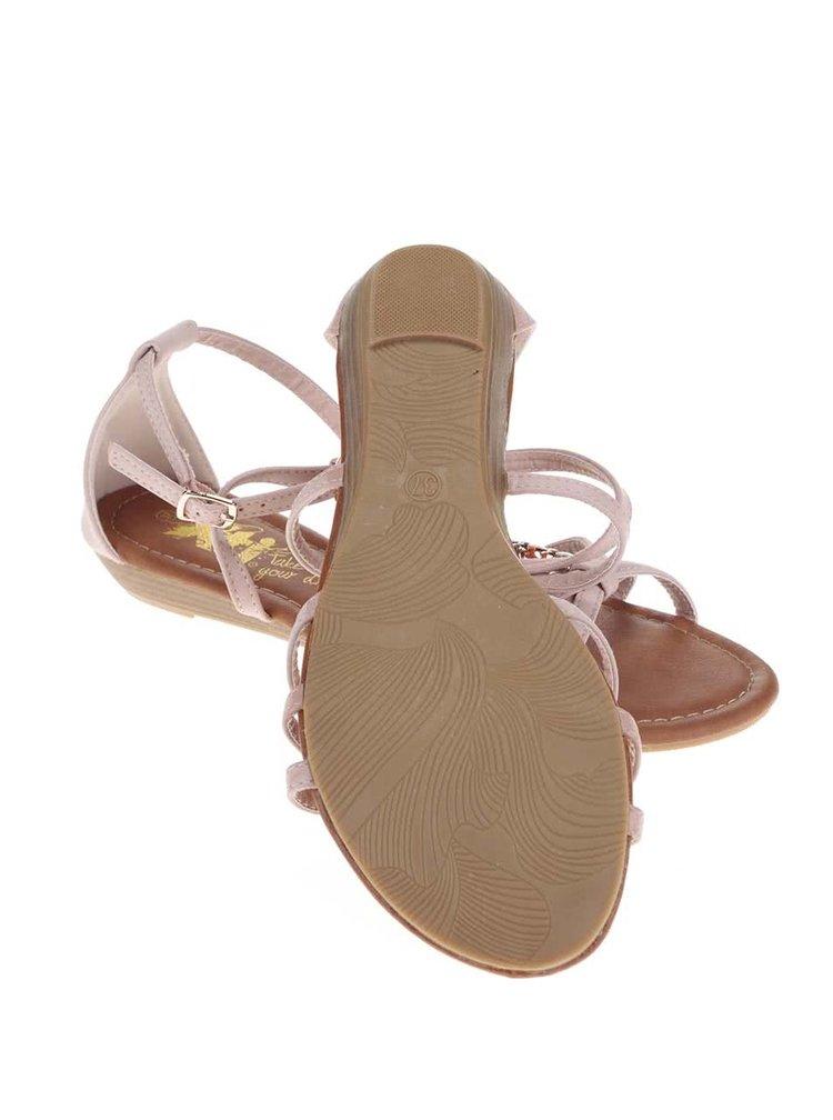 Tělové sandálky s ozdobnou aplikací Xti