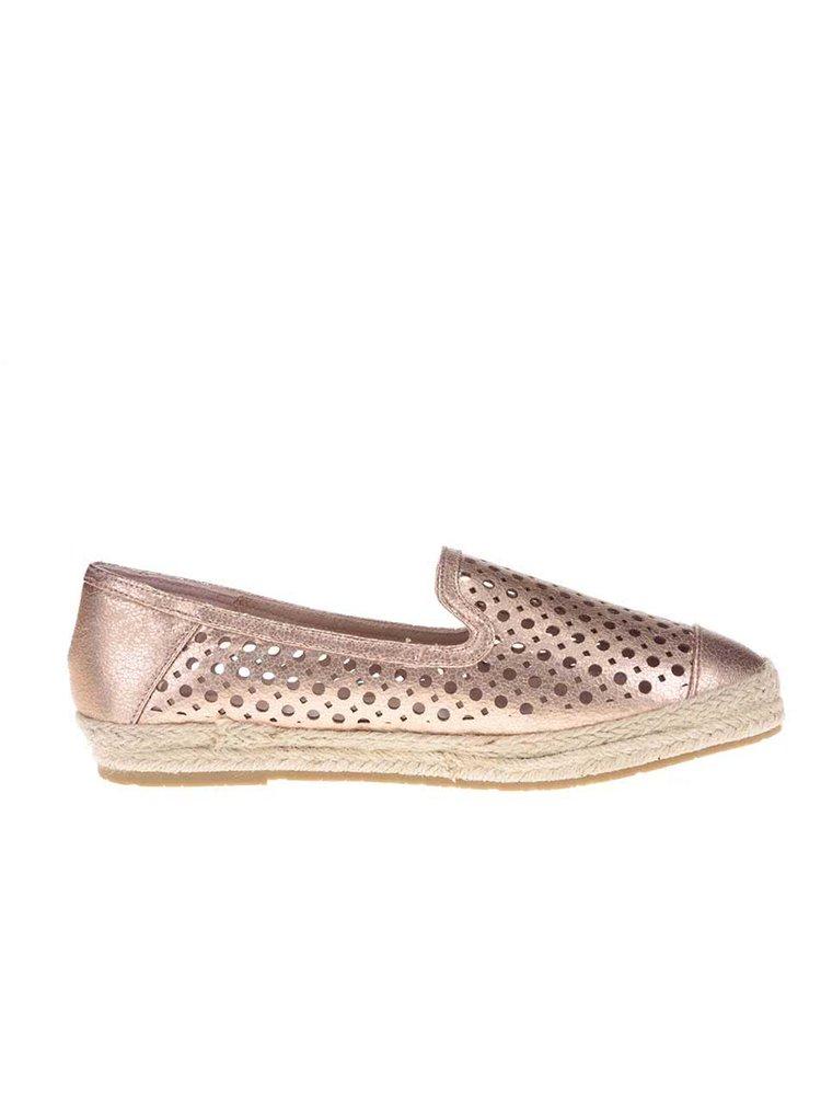 Tělové perforované loafers Xti