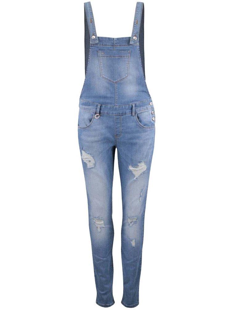 Modré džínové lacláče ONLY New Kim