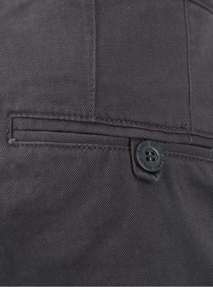 Šedé kalhoty !Solid Mak