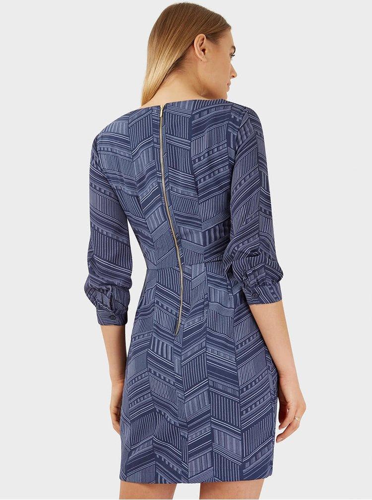 Rochie cu imprimeu Closet albastră