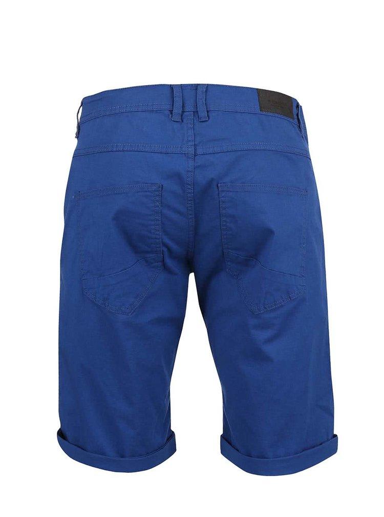 Modré šortky !Solid Lt Nubu Stretch