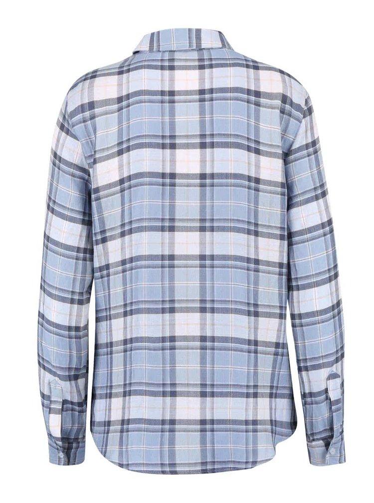 Modrá kockovaná košeľa Dorothy Perkins