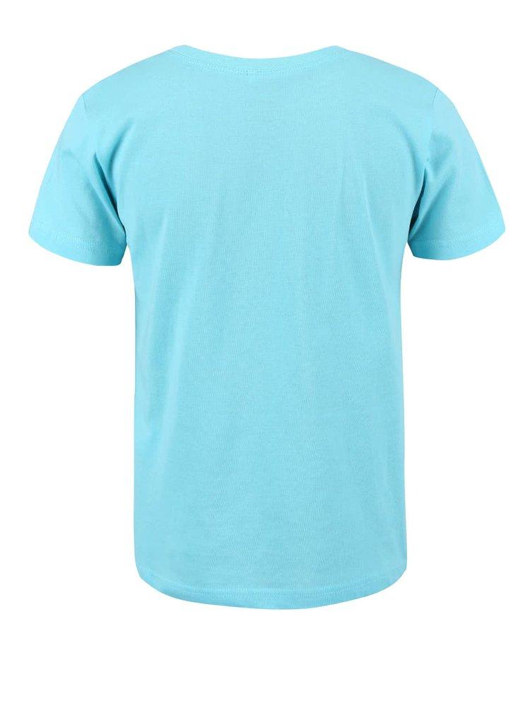 Tyrkysové chlapčenské tričko s hadom name it Helmer