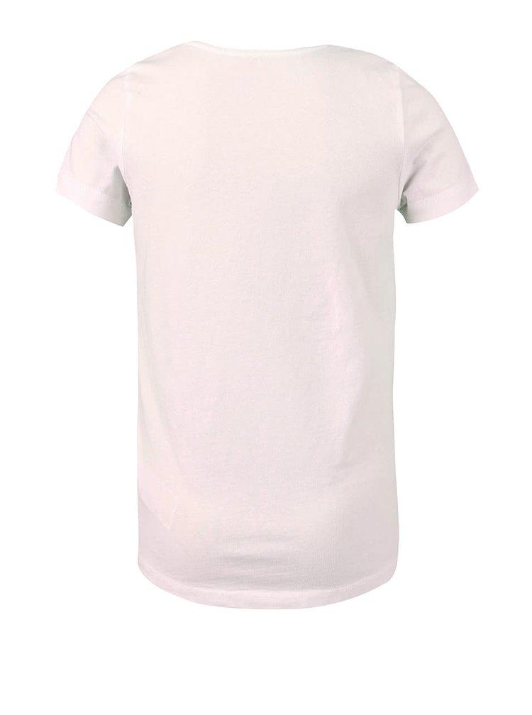 Světle růžové holčičí tričko name it Hicat