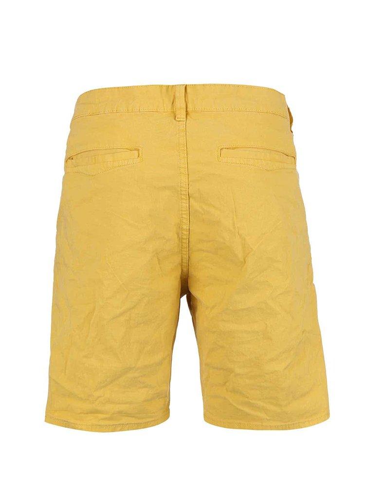 Žlté kraťasy ONLY & SONS Drop