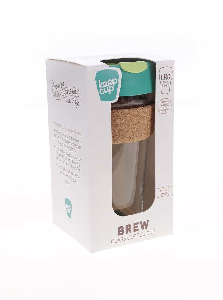 Cană mare de călătorie KeepCup Brew Thyme Cork