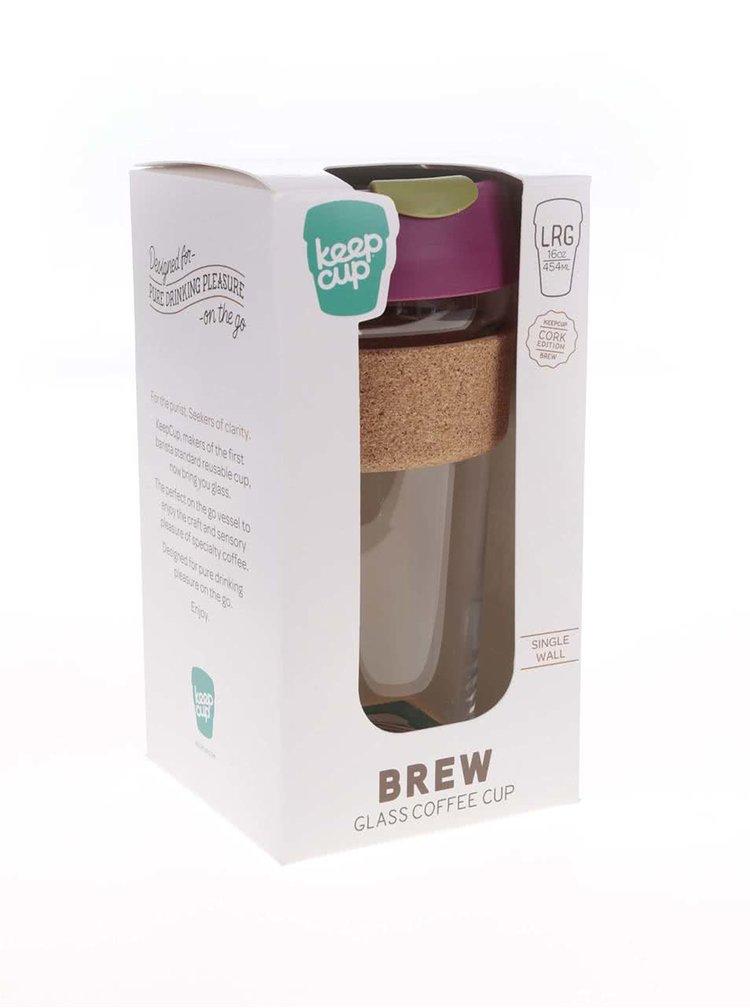 Cana mare de calatorie KeepCup Brew Cinnamon Cork