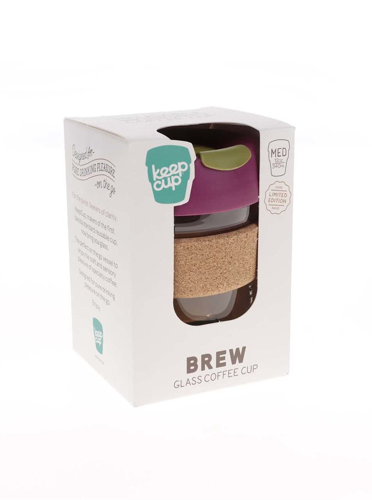 Cana medie de calatorie KeepCup Brew Cinnamon Cork