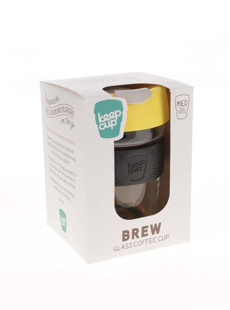 Cana medie de calatorie KeepCup Brew Honey