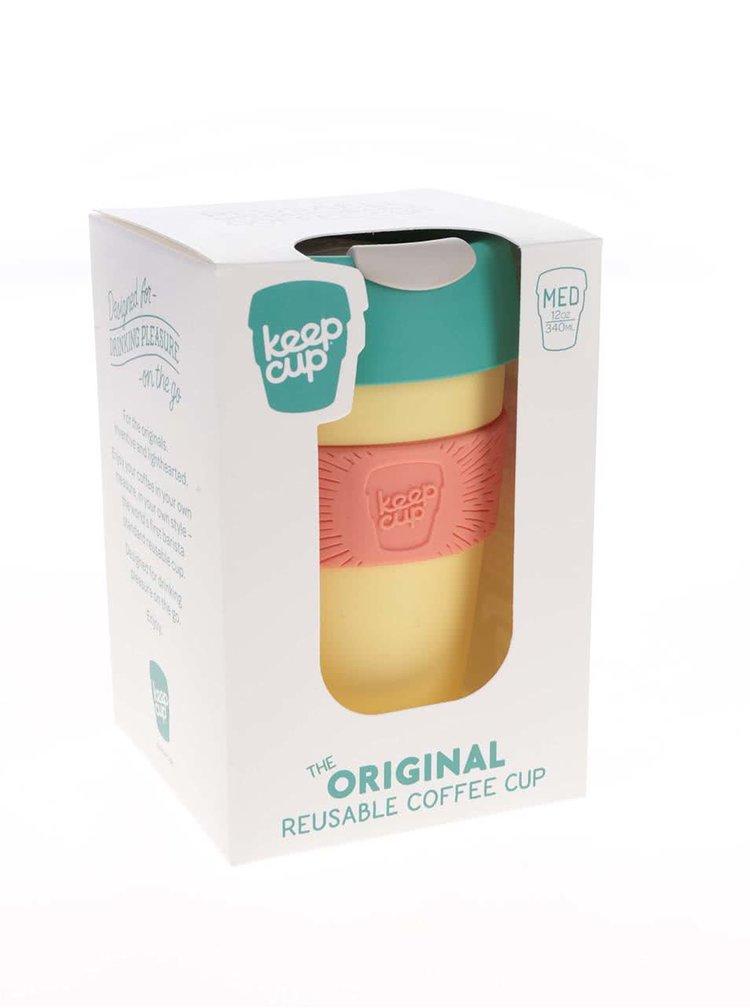 Designový cestovní hrnek KeepCup Custard Apple Medium