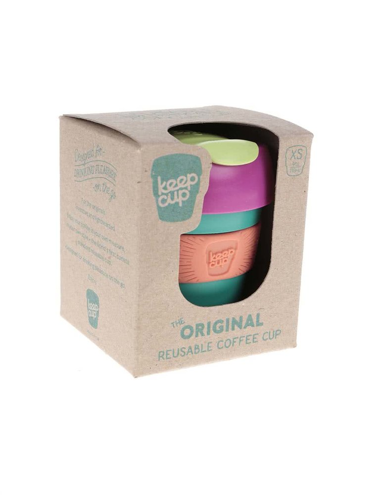 Mini-cană de călătorie KeepCup Cherry Extra Small